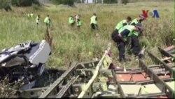 Ngưng điều tra hiện trường vụ máy bay Malaysia bị bắn rơi ở Ukraine
