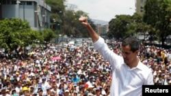 အတုိက္အခံေခါင္းေဆာင္ Juan Guaido