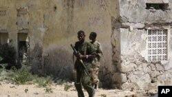 Majeshi ya serikali Somalia yakifanya doria.