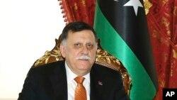 Fayez al-Sarraj, le président du Conseil présidentiel libyen, à Istanbul, le 26 février, 2018.