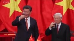 Chủ tịch Trung Quốc chúc mừng ông Trọng tái đắc cử nhiệm kỳ 3