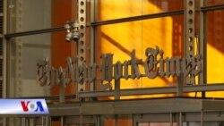 Bài viết trên New York Times khiến ông Trump phẫn nộ
