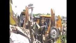 印度火車與校車相撞 12名學童死亡