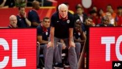 Obe ekipe pokušavaju da pobede, nema tu šta mnogo da se priča: Greg Popović selektor košarkaške reprezentacije SAD-a