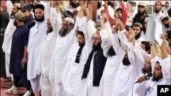 کراچی سمیت ملک بھر میں اسامہ کی ہلاکت کے خلاف مظاہرے