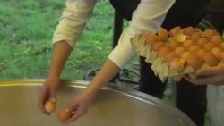 塞尔维亚泽尼察人的摊蛋节