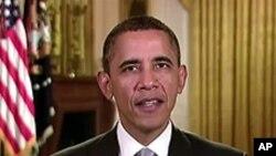 سیاست میں سرمائے کا عمل دخل روکنے پر سرمایہ کاری کی جائے: صدر اوباما