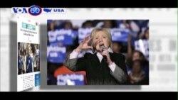 'Bà Clinton có dáng dấp tổng thống' (VOA60)
