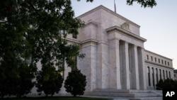 Kantor pusat bank sentral AS atau Federal Reserve di Washington DC (foto: dok).