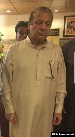 نواز شریف پیرول پر رہائی کے بعد