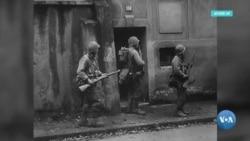 Amerikaliklar safida jang qilgan rus askari