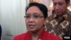 Bộ trưởng Ngoại giao Indonesia Retno Marsudi.