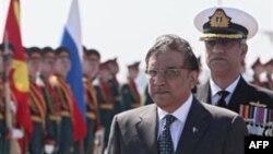 Аль Зардари в Москве