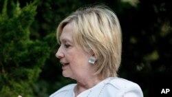 """""""Clinton dijo que no recibió instrucciones o direcciones sobre la preservación o producción de récords del Departamento de Estado antes de dejar el cargo en 2013""""."""