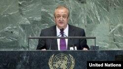 Abdulaziz Komilov, O'zbekiston Tashqi ishlar vaziri, Nyu-Yorkda BMT Bosh Assambleyasida so'zladi, 28-sentabr, 2012