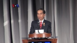 Jokowi di American Chamber of Commerce