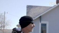 Cựu lính Thuỷ quân lục chiến mất nhà vì lũ lụt