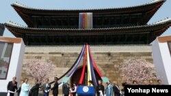 국보 1호 '숭례문' 복원