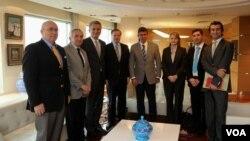 Twitter yöneticileri Barolar Birliği Başkanı Metin Feyzioğlu'nu ziyaret etti.