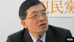 親民黨立委 李桐豪 (美國之音 張永泰拍攝)