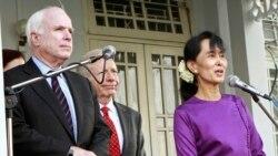 ကြယ္လြန္သူ ၀ါရင့္ အထက္လႊတ္ေတာ္အမတ္ John McCain ရဲ႕ ျမန္မာဒီမုိကေရစီေရး ႀကိဳးပမ္းမႈ