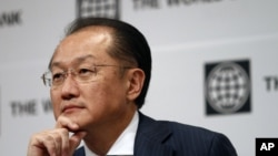 World Bank Group President Jim Yong Kim attends a press conference in Seoul, South Korea, October 15, 2012.