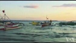 남중국해 필리핀 어부들 피해