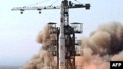 Запуск северокорейской ракеты, 5 апреля 2009 г.