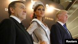 Арас Агаларов и Дональд Трамп на конкурсе красоты «Мисс Вселенная»