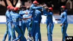 لحظۀ پیروزی در مقابل زمبابوی