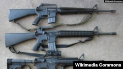 guns photo Wikimedia Commons
