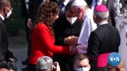 Dans le nord de l'Irak le pape prie pour les victimes de la guerre