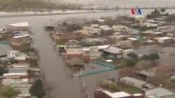 Ciudad bajo agua en Argentina