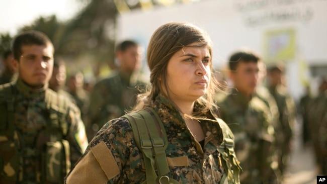 叙利亚民主军宣布伊斯兰国灭亡