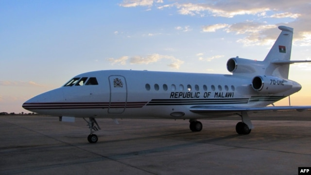 Malawi to honor Banda's plan to sale the $13.3-million USD (11-million-euro) presidential jet. (File photo).