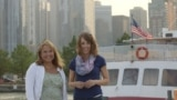 #Route66VOA day two: Ashley and Caty at Chicago's Navy Pier
