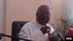 Arcebispo da diocese de Malanje Dom Benedito Roberto