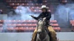 牛仔竞技场 骑马射击