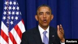 FILE - U.S. President Barack Obama, Jan. 16, 2014.