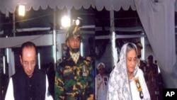 بنگلہ دیشی وزیر اعظم جسینہ واجد ایک تقریب میں
