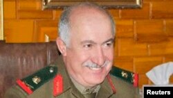 An undated handout photograph shows top-ranking general in Syrian military intelligence, General Jama'a Jama'a who was killed in Deir al-Zor city on Oct. 17, 2013