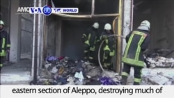 VOA60 World PM - Syria: Airstrikes resume on the rebel-held eastern section of Aleppo