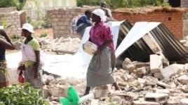 Some of the people who were displaced by Operation Murambatsvina are still homeless. (AP Photo/Tsvangirayi Mukwazhi)