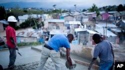 Foto Tranbleman Detè . AP/ Dieu Nalio Chery.