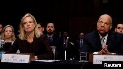 کرستن نیلسن، وزیرامنیت داخلی امریکا: کارهای زیادی است که باید قبل از برگزاری انتخابات میان دوریی صورت امریکا صورت گیرد