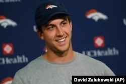 Trevor Siemian will be the new Denver Broncos quarterback.