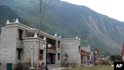 北川新羌寨