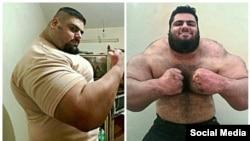 Sajad Gharibi yang dikenal sebagai Hercules Persia, siap melawan kelompok militan ISIS di Suriah (foto: dok).