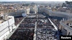梵蒂冈举行教宗就任弥撒