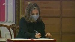 Христя Фріланд: Я свідома того факту, що я – перша жінка на посаді міністра фінансів Канади. Відео